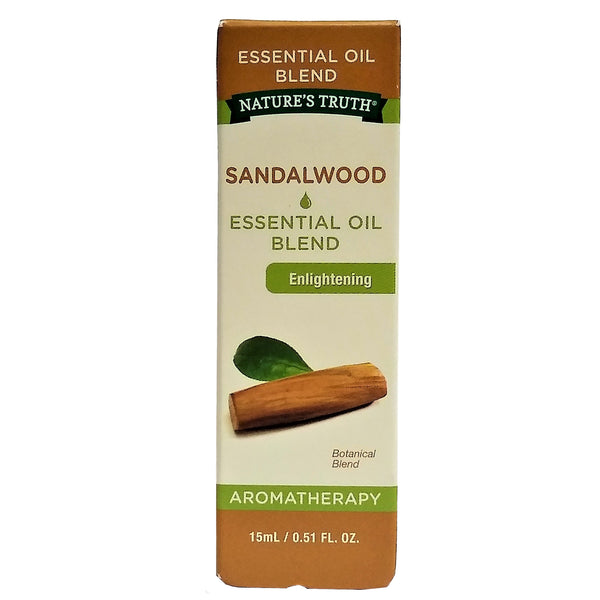 Nature's Truth Sandalwood Essential Oil Blend, .51 Fl Oz, 1 Each, By Nature's Truth