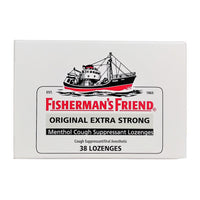 Fisherman's Friend Menthol Cough Suppressant Lozenges, 38 Ct., 1 Pack, By Lofthouse of Fleetwood
