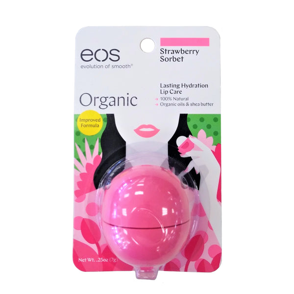 EOS Strawberry Sorbet Lip Balm, 0.25 Oz., 1 Each, By EOS Products