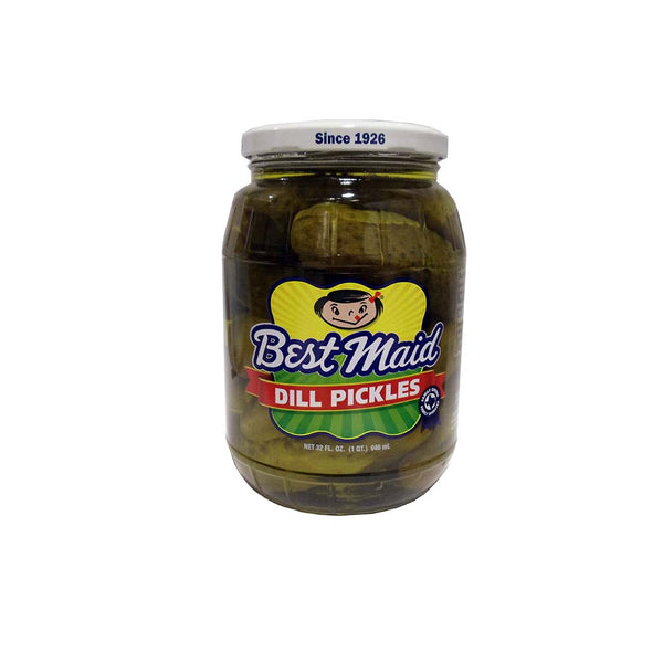 Best Maid Dill Pickles, 32 Fl. Oz., 1 Jar Each, By Best Maid