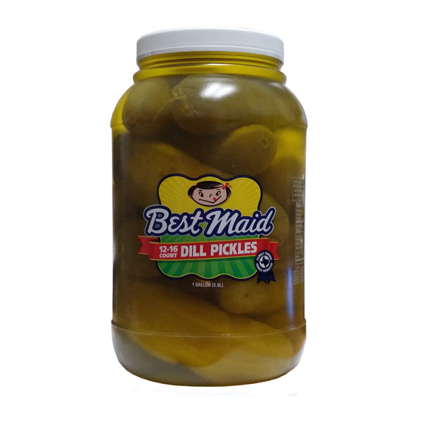 Best Maid Dill Pickles, 12-16 Ct., 1 Gallon, 1 Jar Each, By Best Maid