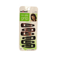 Scunci® No-Slip Grip® Hair Clips, 6 Count, 1 Pack Each, By Conair Corp.