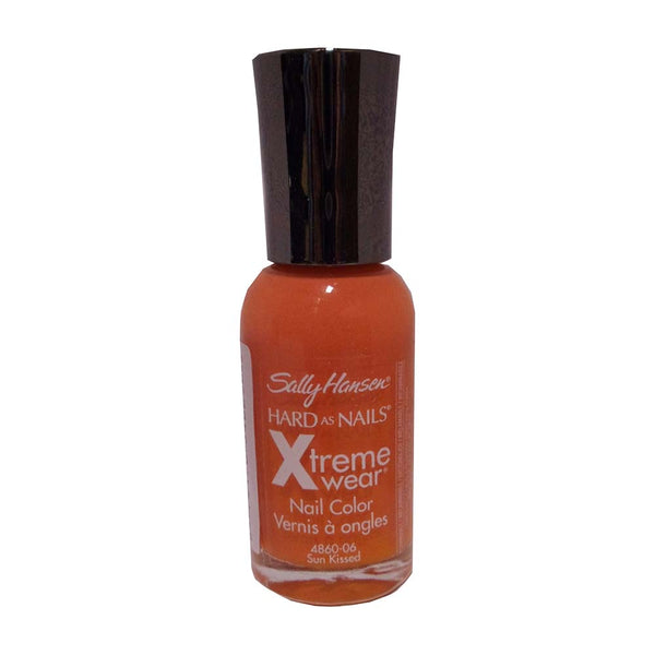 Sally Hansen Hard As Nails Xtreme Wear Nail Color, Sun Kissed, 0.4 FL Oz., 1 Each, By Coty