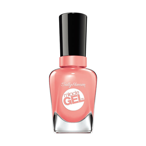 Sally Hansen Miracle Gel Nail Polish, Rosey Riviter,  0.5 Fl. Oz., 1 Each, By Coty