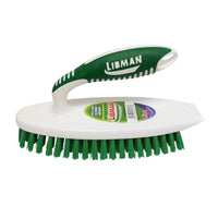 Libman Easy Grip Scrub Brush with Built-In Scraper, 1 Each,  By Libman