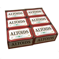 Altoids Curiously Strong Mints Peppermint 1.76 Oz., 12 Ct., 1 Pack Each, By Callard and Bowser