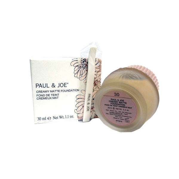 Paul And Joe Creamy Matte Foundation, #30, 1 Each, By Paul And Joe Beaute