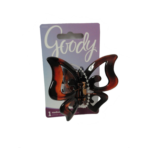 Goody Women's Large Butterfly Filigree Claw Clip, 1 Each, By Sanford