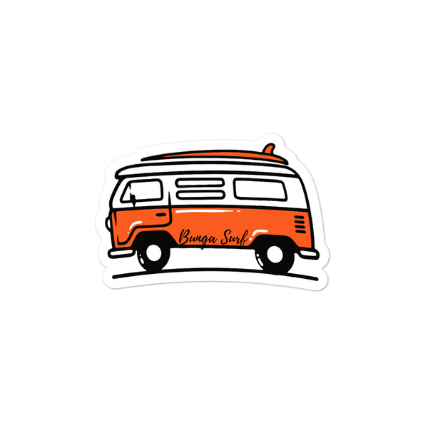Bus Sticker Pack - Bunga Surf