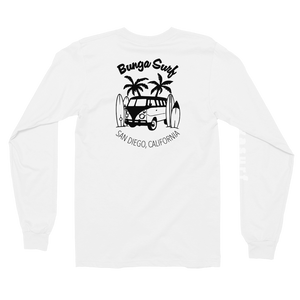 Bunga Surf White Long Sleeve t-shirt - Bunga Surf