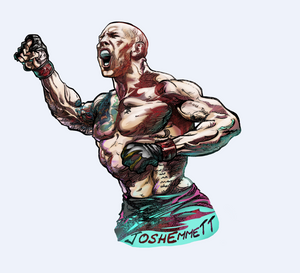 Josh Emmett Art of MMA T-Shirt