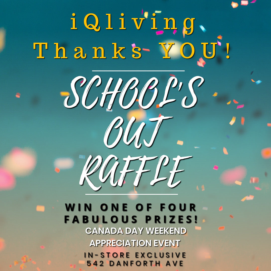 Thank You: School's Out Flash Sale & Raffle