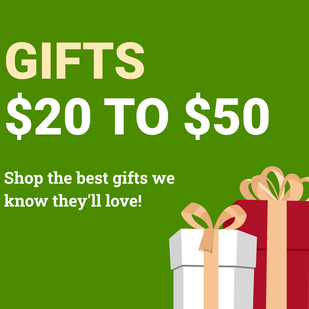 Gifts $20 To $50