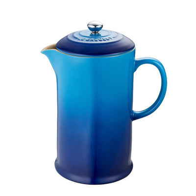 Le Creuset Stoneware French Press, Blueberry