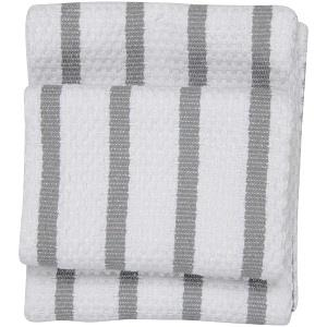 Now Designs Basketweave Tea Towel london grey