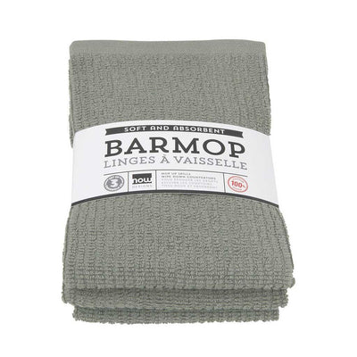 Now Designs Barmop Tea Towel, Set of 3 london grey