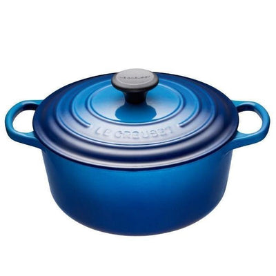 Flame Le Creuset Round French Oven