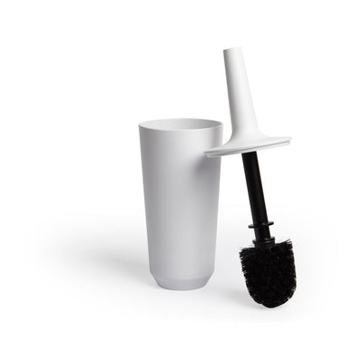 Umbra Corsa Toilet Brush, White