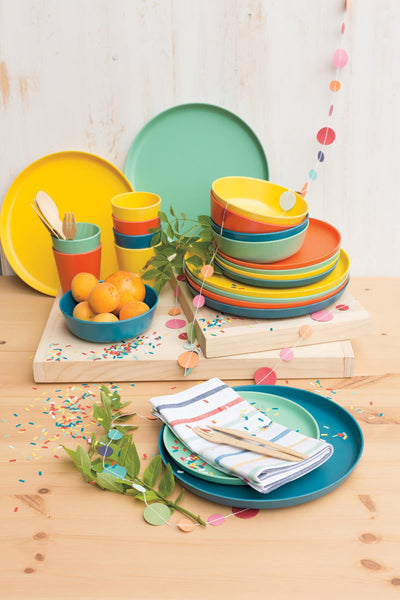 Now Designs Fiesta Ecologie Dinner Plate Set of 4