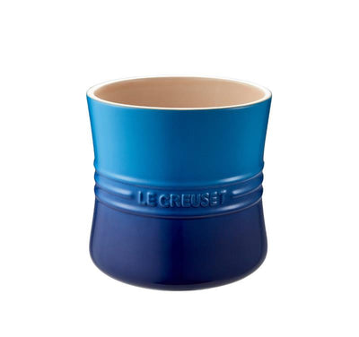 Le Creuset Utensl Holder Crock, Blueberry