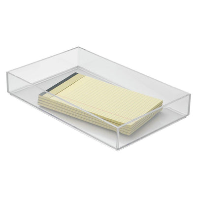 InterDesign Clarity Drawer Organizer 8 x 12 x 2