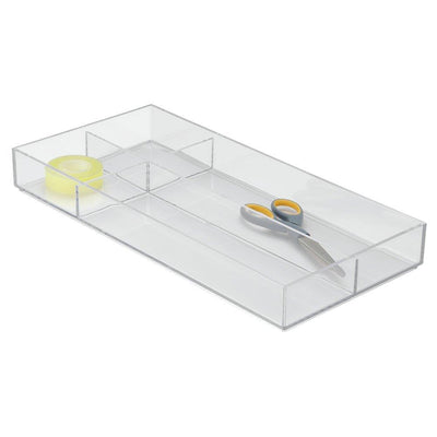 InterDesign Clarity Drawer Organizer 8 x 16 x 2