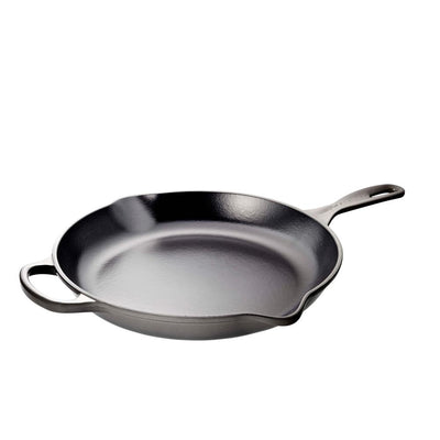 Le Creuset Iron Handle Skillet, Oyster