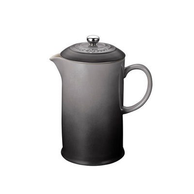 Le Creuset Stoneware French Press 27oz, Oyster