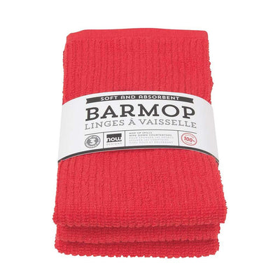Now Designs Barmop Tea Towel, Set of 3 red