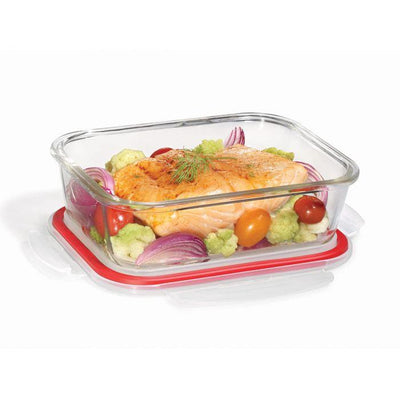 Starfrit Gourmet Lock N Lock Glass Rectangular Storage