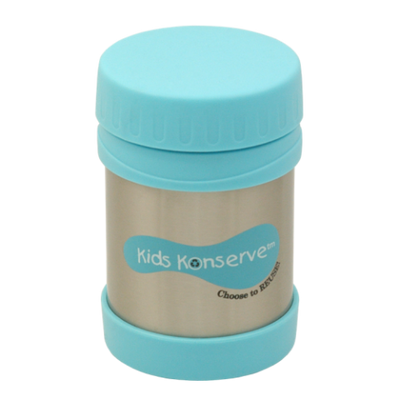 U Kids Konserve 12oz Insulated Stainless Steel Food Jar sky