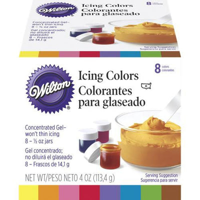 Wilton Icing Colour Kit 8 set