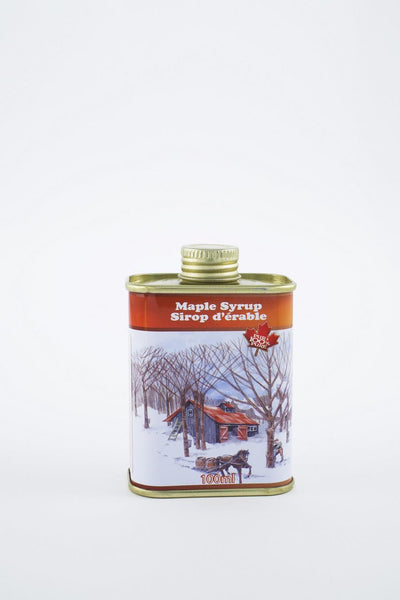 Turkey hill maple syrup tin