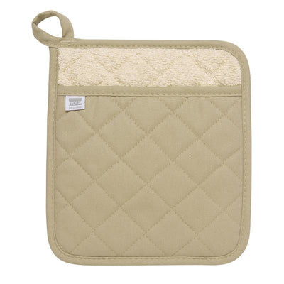 Now Designs Super Basic Potholder, Sandstone