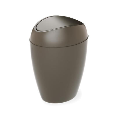 Umbra Twirla Waste Can, Grey