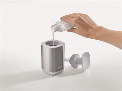 Joseph Joseph Stainless Steel Presto Soap Dispenser