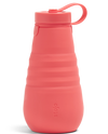 Stojo 20oz Collapsible Water Bottle - Coral