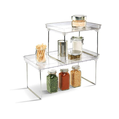 Made Smart Classic Stacking Shelf - Clear
