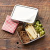 Dalcini Stainless Lunch Bistro Box & Little Snacker Combo