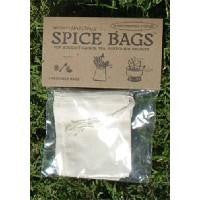 Regency Spice Bags Set of 4 Natural Cloth Linen