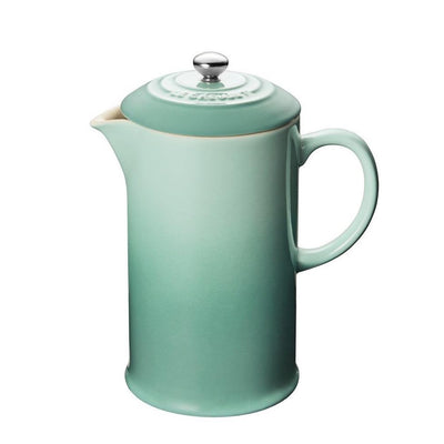 Le Creuset Stoneware French Press, 27oz Flame