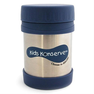 U Kids Konserve 12oz Insulated Stainless Steel Food Jar ocean