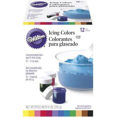Wilton Icing Colour Kit 12 set