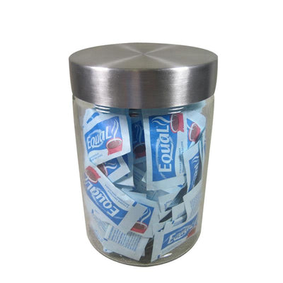 Port-Style Glass Canister with Stainless Steel Lid 1.2l