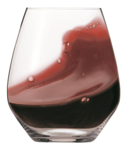 Spiegelau Authetic Glass Stemless Wine Glasses Set