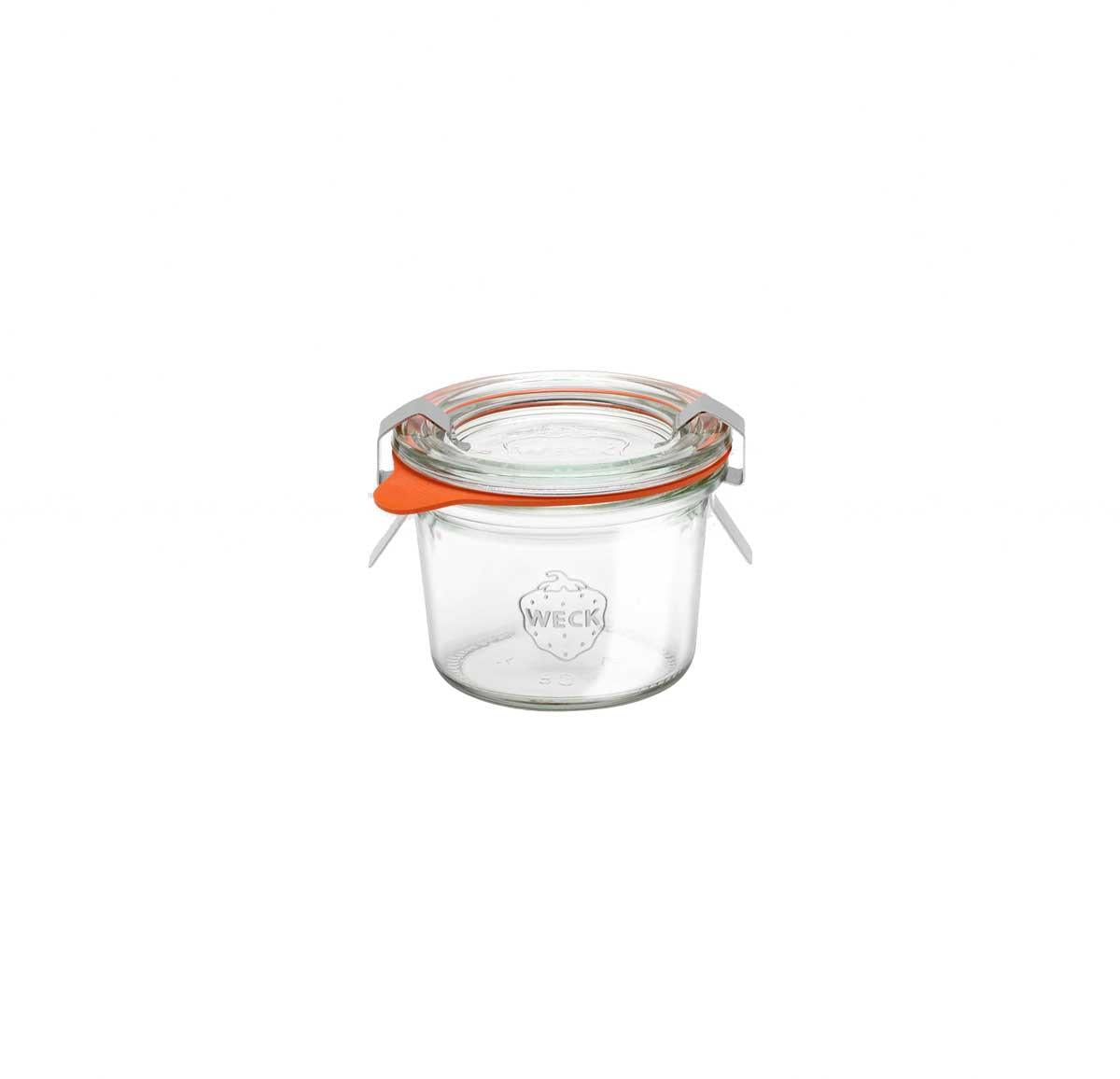 60ml Small Weck Glass Mold Jar