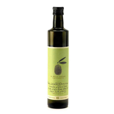La Belle Excuse First Cold Pressed Black Olive Oil, 500ml Bottle