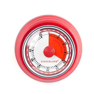 Kikkerland Magnetic Kitchen Timer, Green