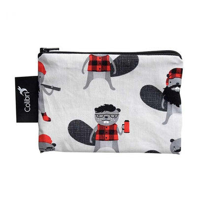 Colibri Reusable Small Snack Bags, Beavers