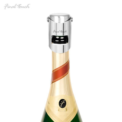 Final Touch Stainless Steel Champagne Stopper